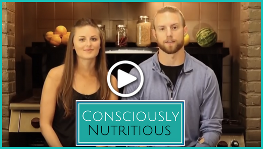 Consciously Nutritious Video Overlay